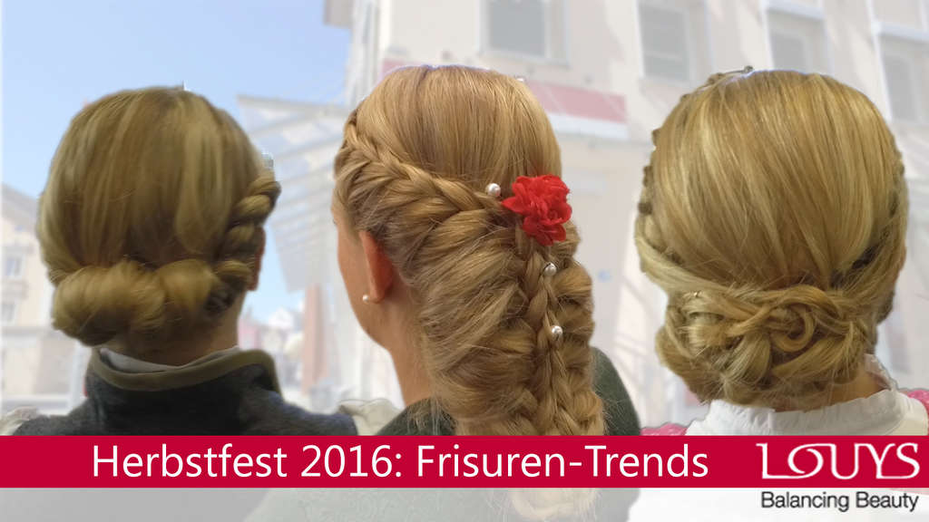 Die Must-haves der Dirndl-Frisuren